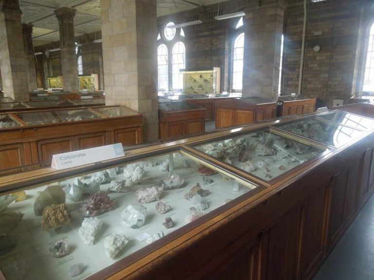 The Mineral Room at The Natural History Museum | ©Simeon87