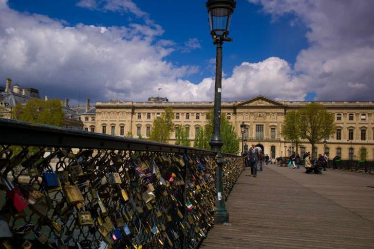 Le Pont des Arts @ WikiCommons