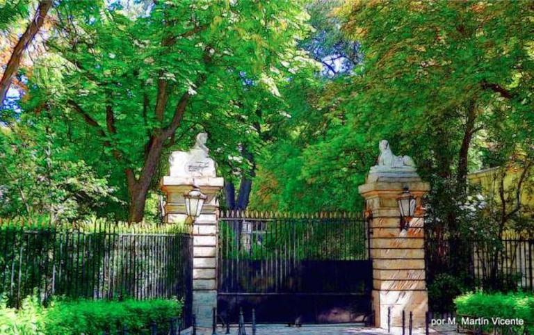 Entrance to Palacio de Liria   © Manuel/Flickr