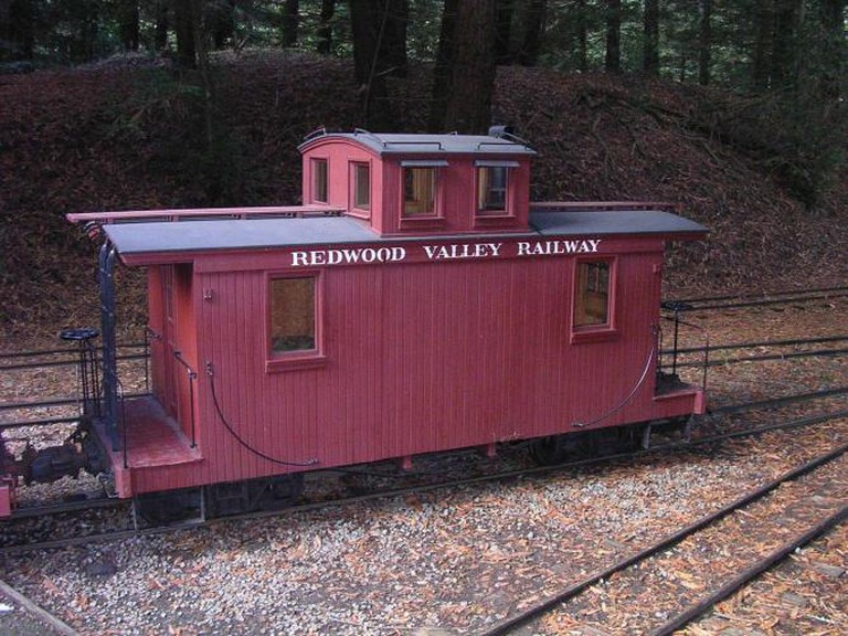 The Caboose   © IvyMike/Flickr