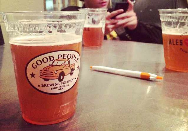 Good People Brewing Co. Beer   ©Will Gurley/Flickr