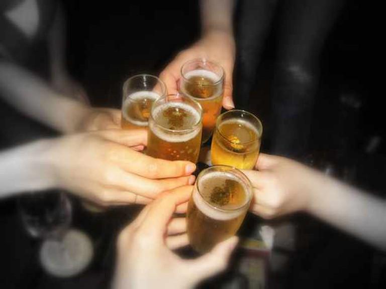 Cheers with Friends   ©BluEyedA73/Flickr
