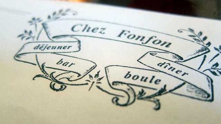 Chez Fonfon Logo   ©FoodieBuddha/Flickr