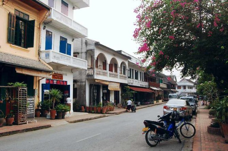 The Town of Luang Prabang- By: Ma'ayan Peleg