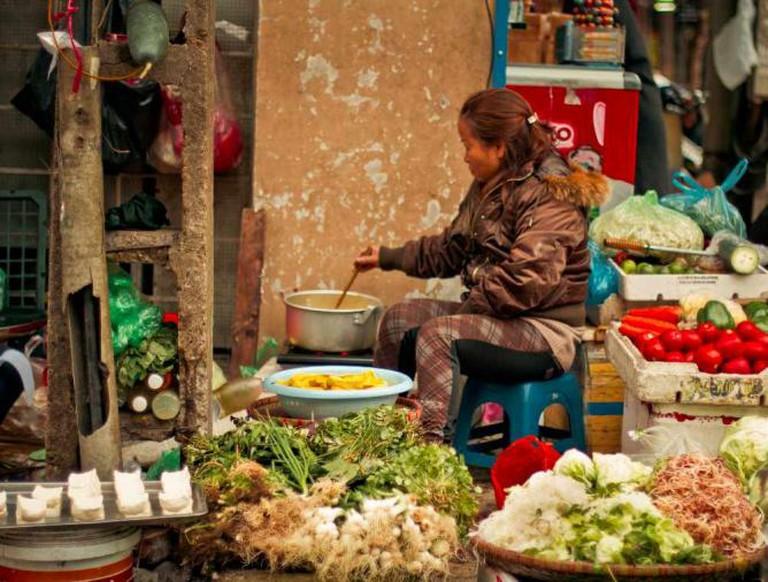 'Morning Food Market' By:Gemma Grau