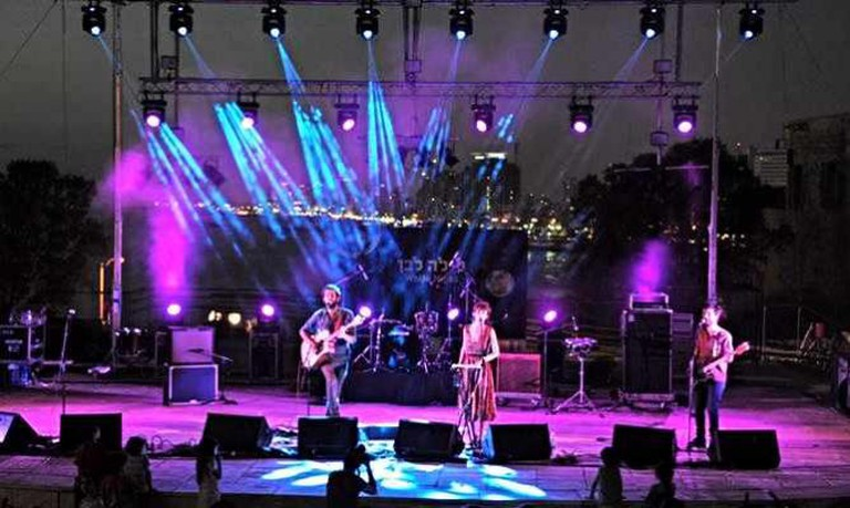 Tel Aviv White Night Indie Rock