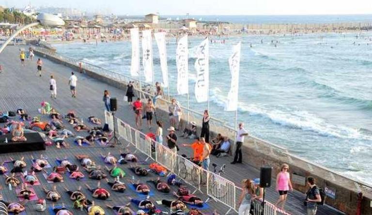 Tel Aviv White Night Namal Yoga