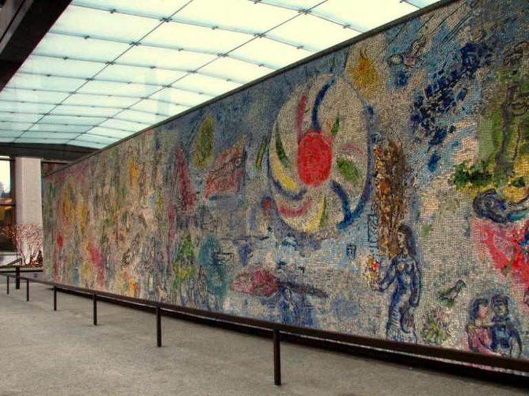 Four seasons, Marc Chagall | © Laura Maia/Flickr