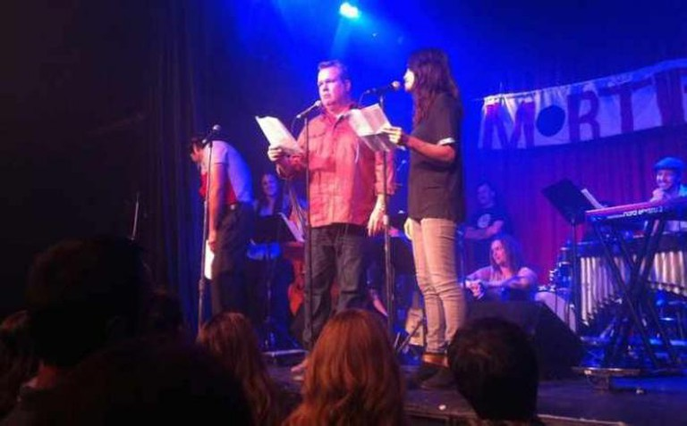 Actor Eric Stonestreet of Modern Family at Mortified Live | Courtesy Mortified