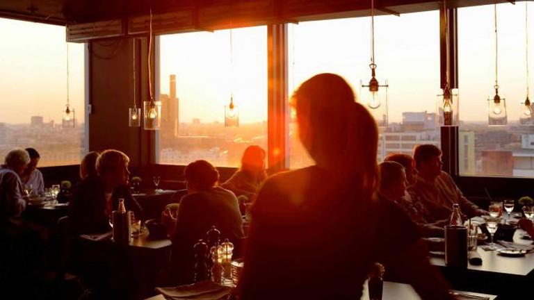 Solar restaurant | Courtesy of Solar