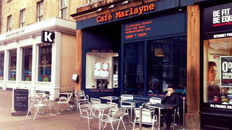 Café Marlayne Edinburgh | © STV Photos/Flickr