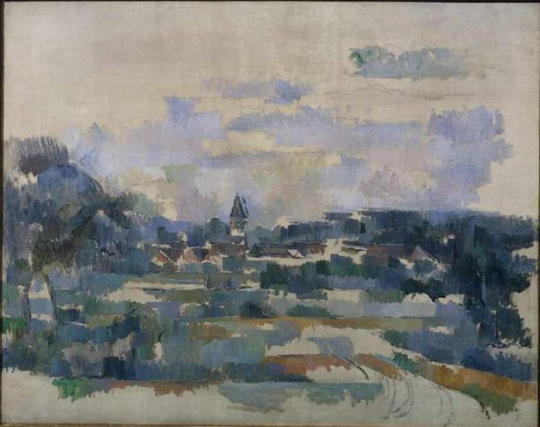 Cézanne, Turning Road © The Courtauld Gallery