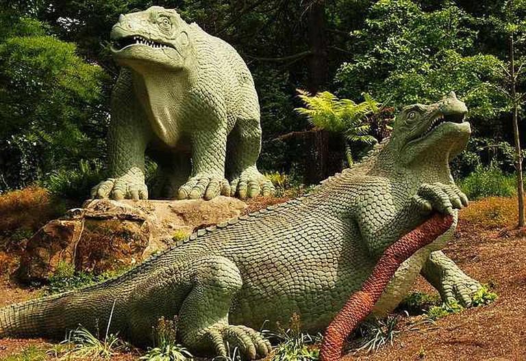 Iguanodon's in the park