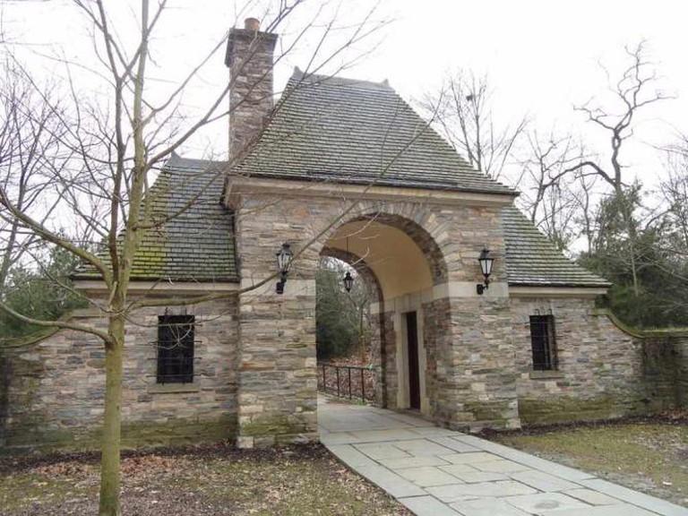 Frick Park entrance gate, Pittsburgh, Pennsylvania, USA © Daderot/WikiCommons