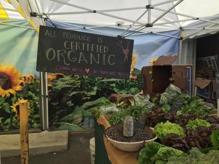 Calabasas Farmers Market Certified Organic Greens