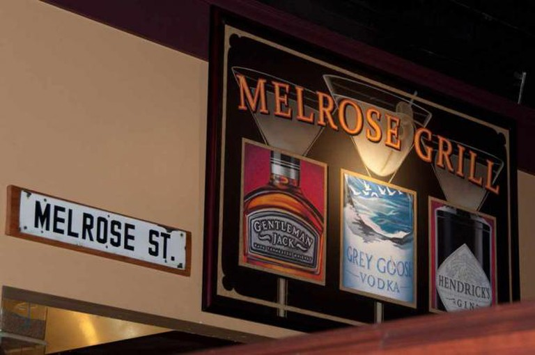 Signs at Melrose Grill | © Warren In the Weeds/Flickr