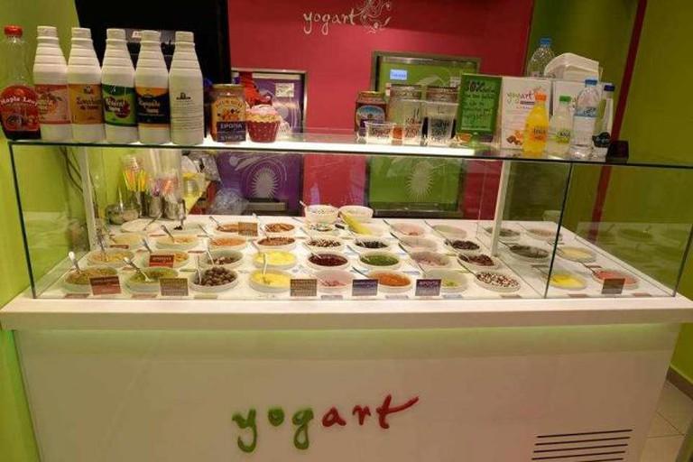 Frozen yogurt toppings | Courtesy of Yogart