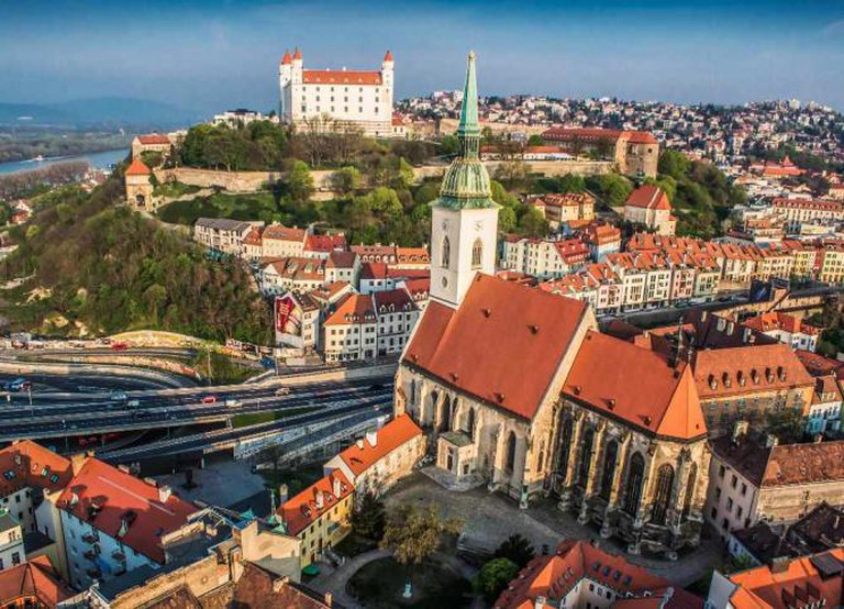 St. Martin's Cathedral and the Castle | Courtesy of Bratislava Tourism Board