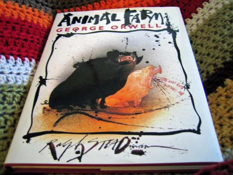 Orwell's Animal Farm | © psd/flickr