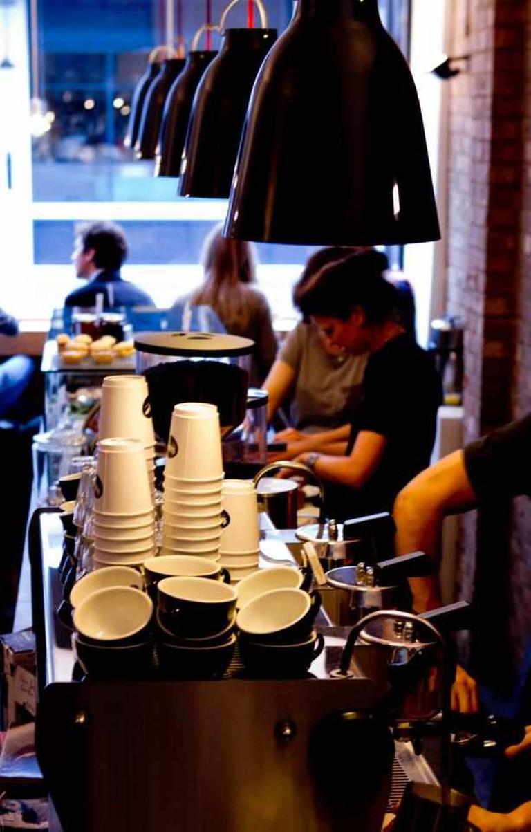 Kaffeine Interior | © Kaffeine