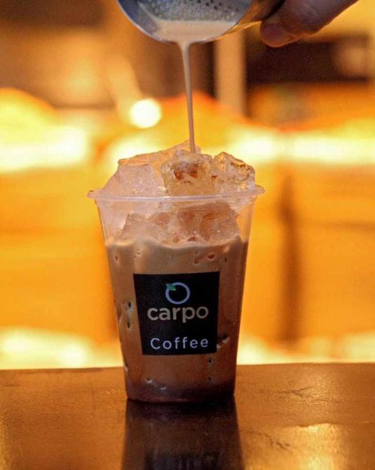 Carpo Iced Coffee | © Carpo London