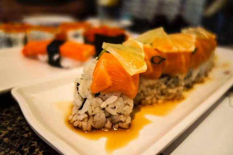 Salmon Sushi   ©gsloan/Flickr