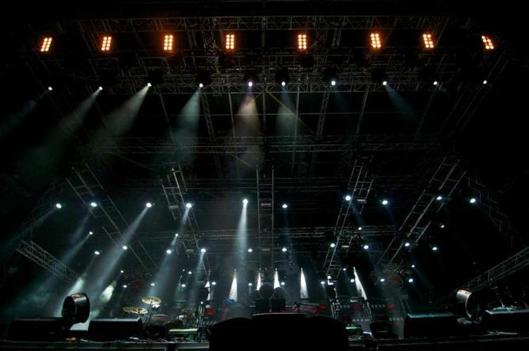 The main stage at Spirit of Burgas