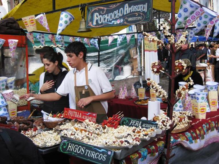 Feria de Mataderos, Pochoclo Stand | © Meghan Hess
