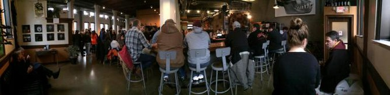 Dangerous Man Brewing Co. Panorama