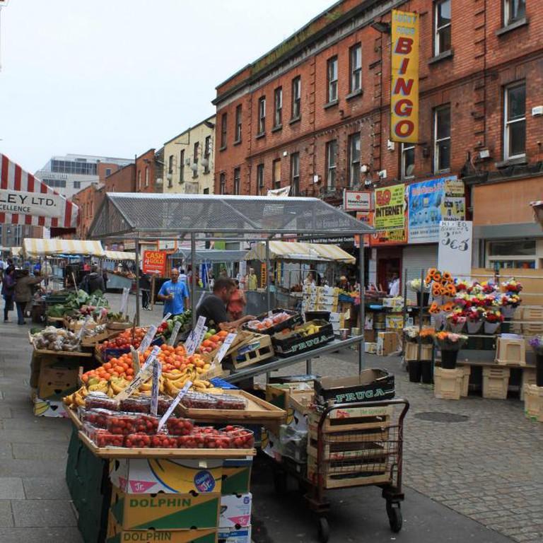 Moore Street Market © Dave Gunn/Flickr