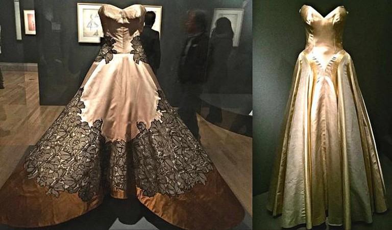 Charles James Cloverleaf and Ribbon Dresses | Alexandra Brown
