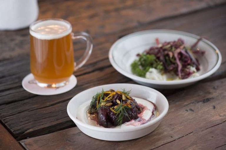 Brew, Beets and Slaw | Photography courtesy of Berber & Q and Homegirl London