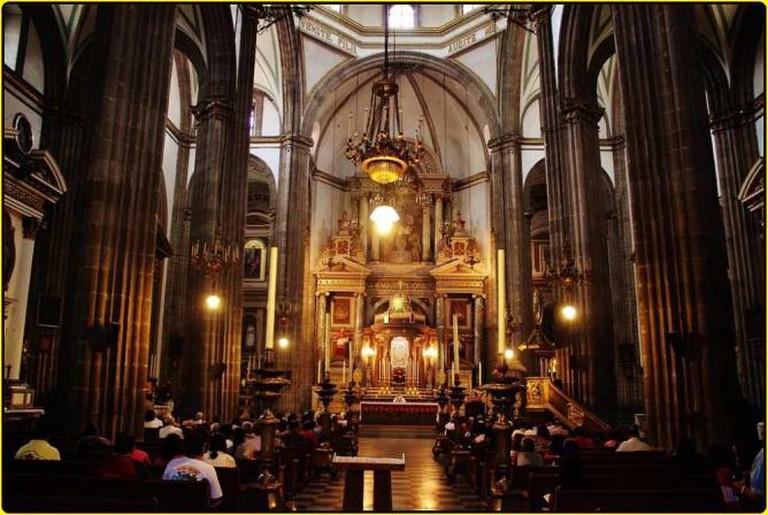Templo San Felipe Neri 'La Profesa' | © Enrique López-Tamayo Biosca/Flickr