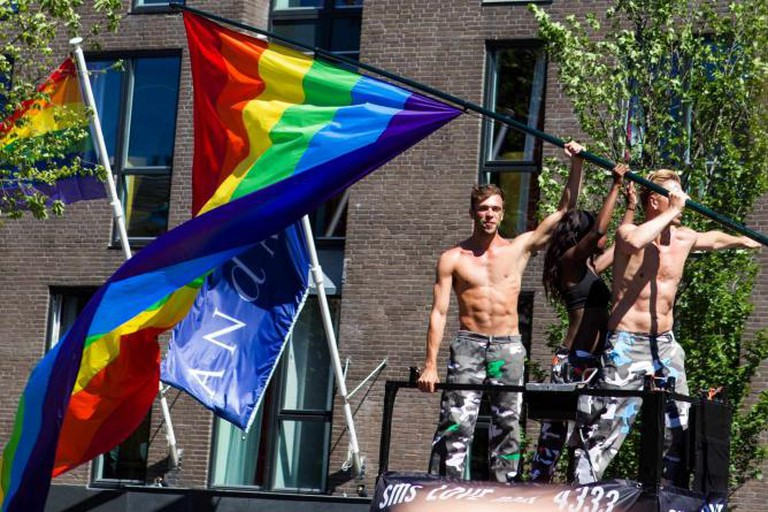 Work in gay areas amsterdam