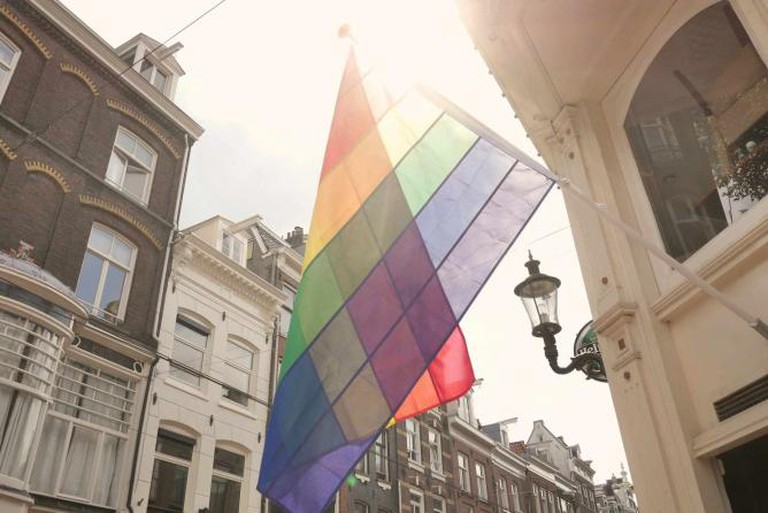 Gay Flag Amsterdam | © FranklinHeijnen/Flickr