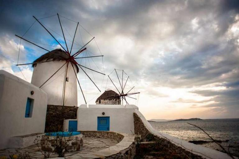 Windmills of Mykonos   © Mstyslav Chernov/WikiCommons