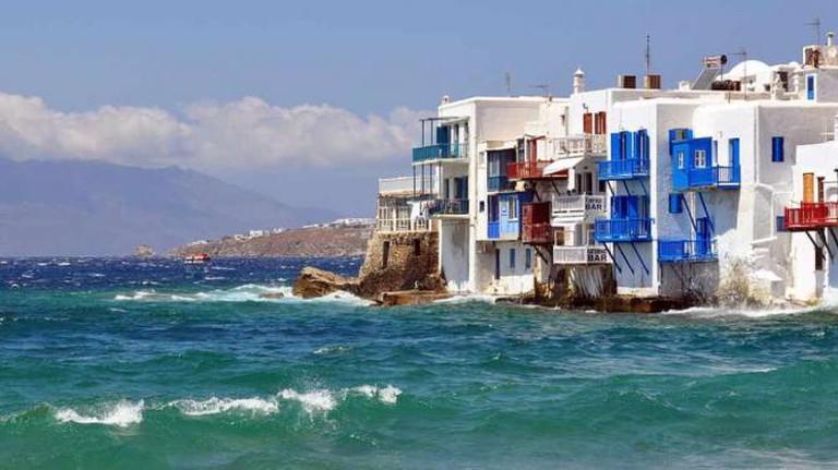 Traditional Aegean houses   © Russavia/WikiCommons