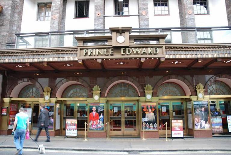 Prince Edward Theatre © Fallschirmjäger @ wikicommons.org.uk