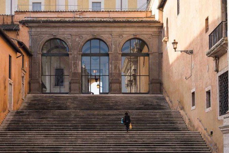 Steps on Capitoline Hill