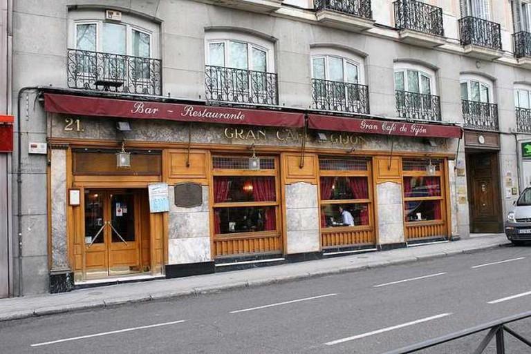 Café Gijón | © Roberto García/WikiCommons
