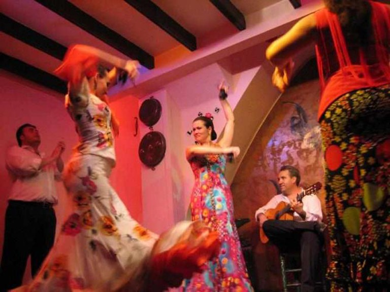 Flamenco dancing | © Mongol/WikiCommons