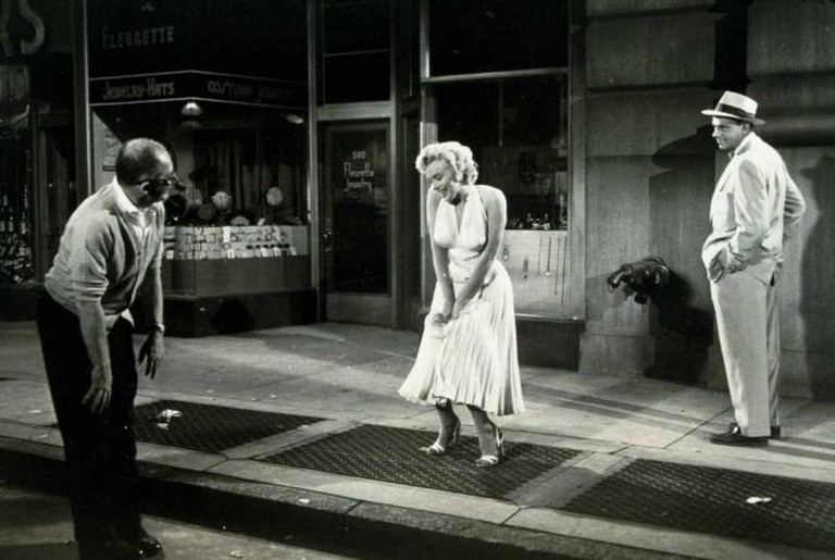 "Monroe as ""The Girl"" in The Seven Year Itch"