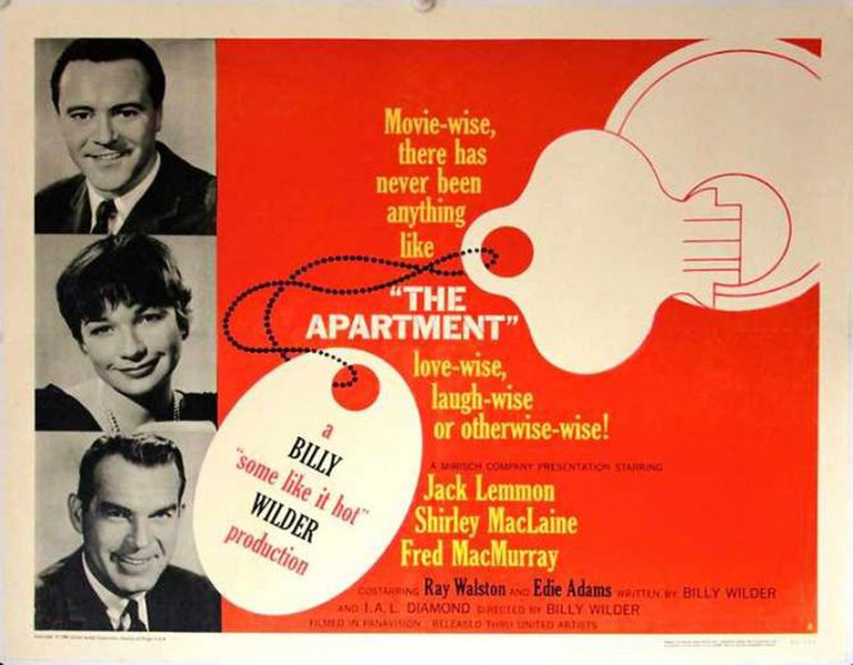 A promotional poster for The Apartment