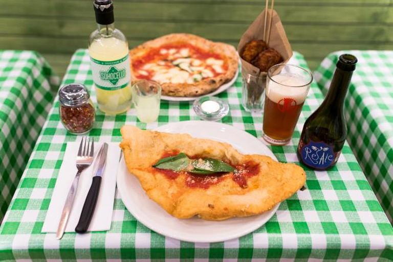 Pizza Pilgrims' Fried Calzones