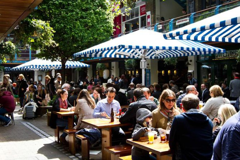 Kingly Court courtyard