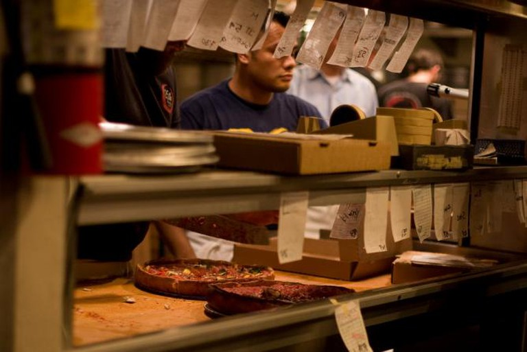 Zachary's Chicago Pizza | ©JennLu/Flickr