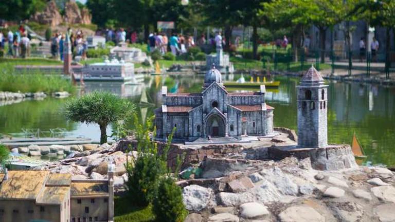 Miniature Italy theme park