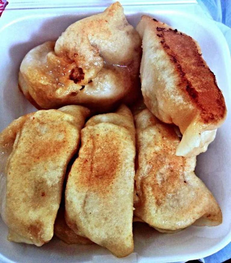 Five beautiful bites from Tasty Dumpling | © Cindy Liu