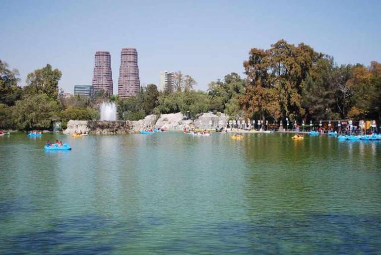 Lago Menor, Chapultepec | © Thelmadatter/WikiCommons