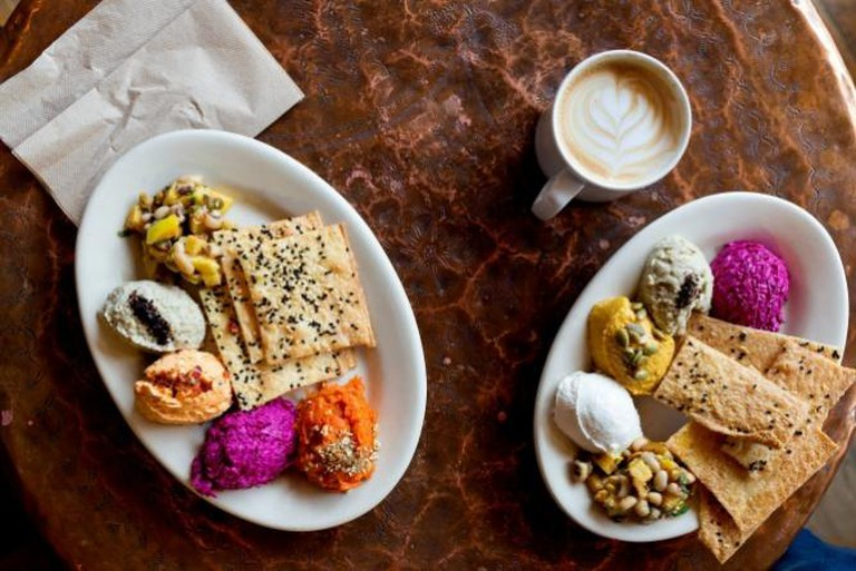 Assorted Meze | Courtesy of Sofra Bakery and Cafe
